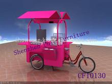 2015 attractive designs bicycle food kiosk,mobile vending food van for sale,mobile food cart kiosk