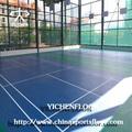 Voleibol/futsal/tenis/baloncesto/pisos de gimnasio, colorido deportes de interiores alfombra del piso