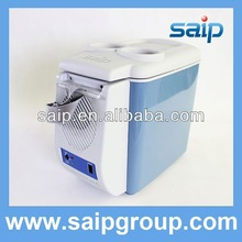 Mini Car Fridge Ice Cooler and Warmer mini thermoelectric cooler and warmer 6 can mini fridge car cooler box 12v