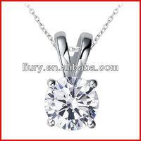 High quality zircon stone necklace