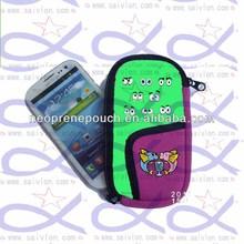 China neoprene cellphone case for note 3