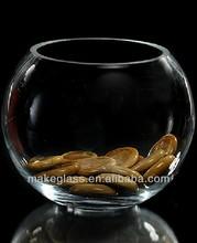 ball shaped glass fish bowl,ball-shape glass vase
