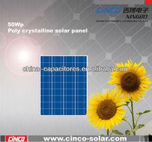 50W poly solar panel price list, price per watt solar panels in india