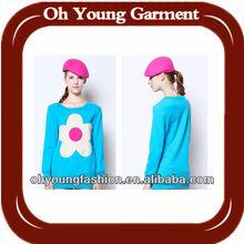 Custom High Quality Blank Cotton Long Sleeve Fleece Hoodies For Women