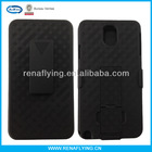 Heave duty hybrid case for samsung galaxy note 3 with kickstand