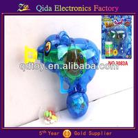cute toys kids blue bear bubble guns with sugar