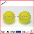 suave colorido mini pelota de tenis para niños