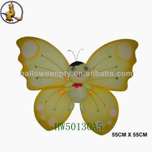Yellow Cute Cartoon Figure Butterfly Wing