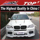 NEW Car body kits for BMW 2009-2013-X5-Haman-n style dual muffler bm-w x5 haman body kit