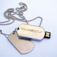 Dog Tag Necklace USB Flash Drive,Bulk Cheap USB Flash Drive,Metal Flash USB