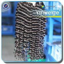 Yinweige human hair deep wavy virgin indian remy