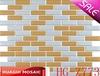 decorative tile strips steel metal mosaic HG-Z773