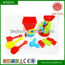 10PCS mini plastic beach bucket toy kids summer sand set toy for sale