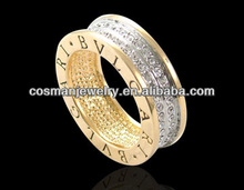 Men's Alloy Rings With CZ Stone Ring