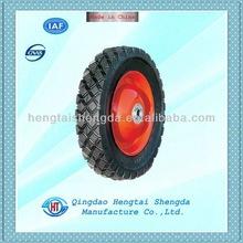 solid rubber wheel barrow wheel EW1524,8x1.75