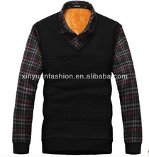 Long Sleeve Fashion Add Wool Upset Of Golden Fleece T-Shirt