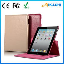 PU leather smart cover case for ipad mini 2