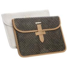 belt clip for apple ipad air leather case ,handbag wallet case for ipad 5