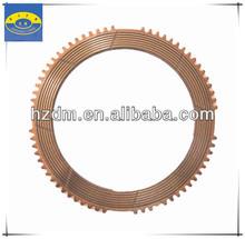 KOMASU Excavator Spare Part Copper Based Friction Clutch Disc