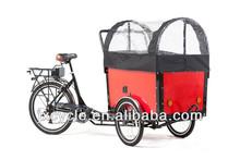Powerful Cargo Bike With Open Body