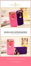 new arrival design Juicy couture pendant silicon case for iphone 5 5s
