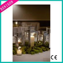 Super cheap DIY IKEA hanging santas christmas factory lanterns design wholesale decorative metal lanterns