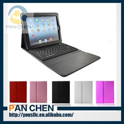 PU Leather Case with Wireless Bluetooth Keyboard for iPad Air ipad 5