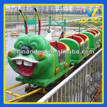Zhengzhou Win Win Electric rides on train big budworm model for amusement park
