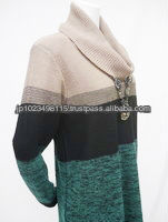 Various types of rough knitted sweater by Japanese company