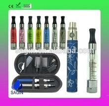Transparent electronic cigarette vaporizer pen