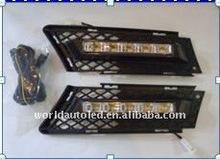 LED DRL for BMW E90(3)(2005-2008 year)High power,12V DC/24V DC,led drl light
