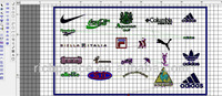 Embroidery punching service for custom designs