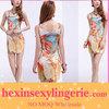 wholesale cheap trendy landscape ladies galaxy celebrity dress