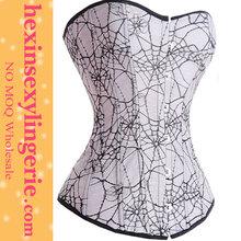 Wholesale sexy corset bodysuit garter