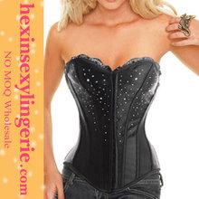 New hot xxxl com leather corset bondage garter g-strin