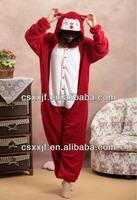 Coral Fleece Batman Animal Onesie As Pajamas