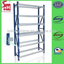 Metal folding shelves for warehouse workshop storage files cabinet
