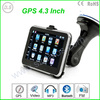 Hot sale 4.3 inch HD touch screen Windows CE 6.0 navigation gps