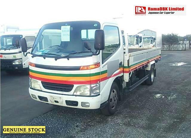 Stock#33740 TOYOTA DYNA TRUCKS Chassis:XZU346-0001007