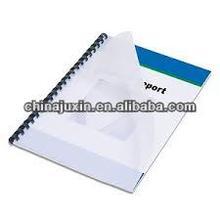 plastic sheet for binding covers