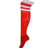 Brand High Quality Mens Football Red Soccer Socks Thigh High Socks