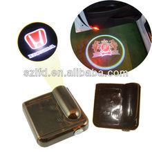 Newest patent led car door logo laser projector light,wireless car shadow ghost logo light for south Korea market