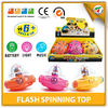 Best-selling Kids Flash Plastic Spinning Top With all Certificates