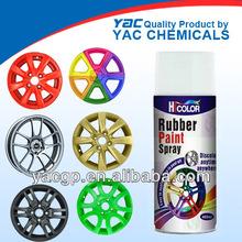 car paint rubber spray for car wheel decoration