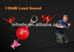 Women Loud burglar alarm self protection equipment