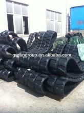 Daewoo DX55 rubber track,mini digger DX60,DX75,DX80,DX130,DH55,DH60,DH75,Solar 130,Solar 140,Solar 75,Solar 65,Solar 90,solar 80