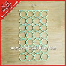 paper rattan 28 ring hanger scarf rack