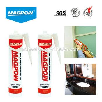 280ml brown high temperature silicone sealant