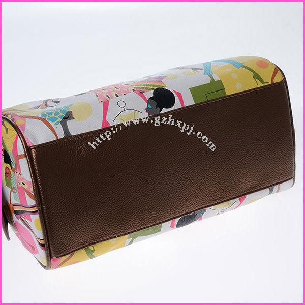 travel hanging bag / women handbag / printing lady bag