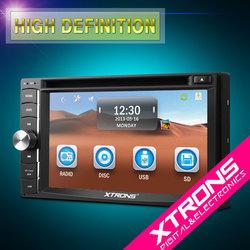 """XTRONS NEW 6.2"""" HD digital touch screen universal 2 din car dvd player cheap"""